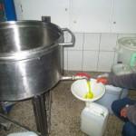 skupljanje ulja iz separatora