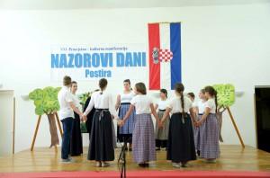 Nastup folklorne skupine škole
